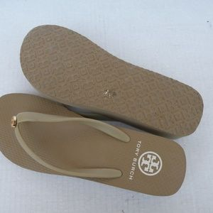 TORY BURCH PLATFORM SANDALS 8M